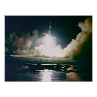 Apollo lançamento de 17 noites poster