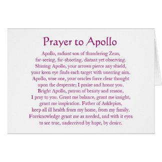 Apollo Notecard Cartoes