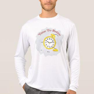 Aposentadoria: Despertador aposentado Camisetas