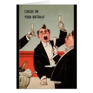Aposentadoria do aniversário de Deco dtodos nós Cartão Comemorativo