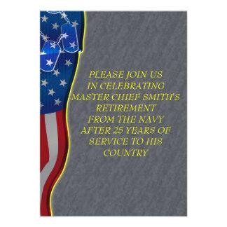 Aposentadoria militar convites