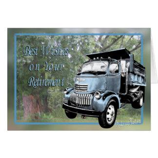 Aposentadoria-personalize Cartão Comemorativo