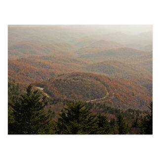 Appalachian do outono cartão postal