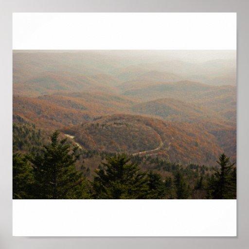 Appalachian do outono posters