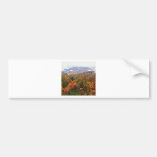 Appalachian luxúria Carolina da paisagem da cena Adesivos