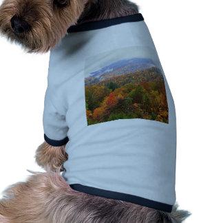 Appalachian luxúria Carolina da paisagem da cena Camisas Para Caes