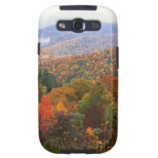 Appalachian luxúria Carolina da paisagem da cena Capa Para Galaxy S3