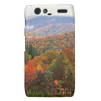 Appalachian luxúria Carolina da paisagem da cena Motorola Droid RAZR Capa