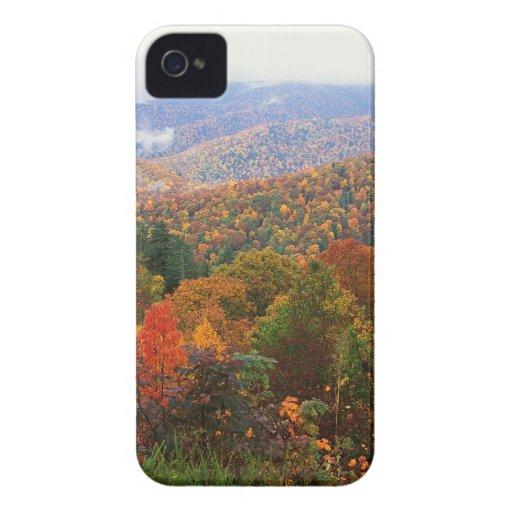 Appalachian luxúria Carolina da paisagem da cena Capas iPhone 4 Case-Mate