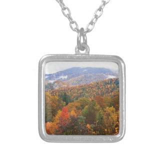 Appalachian luxúria Carolina da paisagem da cena Colares Personalizados
