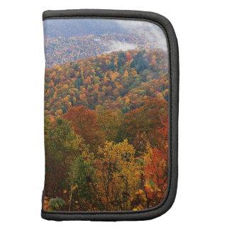 Appalachian luxúria Carolina da paisagem da cena Agenda