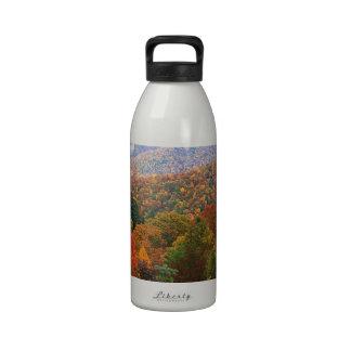 Appalachian luxúria Carolina da paisagem da cena Garrafas De Água Esportivas