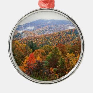 Appalachian luxúria Carolina da paisagem da cena Ornamento Para Arvores De Natal