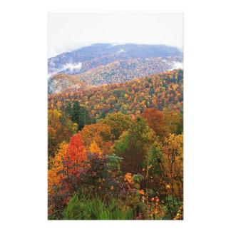 Appalachian luxúria Carolina da paisagem da cena Papéis Personalizados