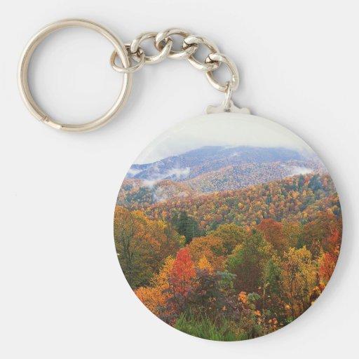 Appalachian luxúria Carolina da paisagem da cena Chaveiros