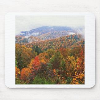 Appalachian luxúria Carolina da paisagem da cena Mouse Pad