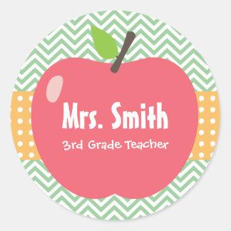 Adesivos para professor ou professora. Crie um adesivo com o seu tema favorito