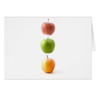 Apple cronometra cartão