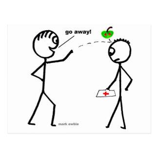 Apple um o dia cartão postal