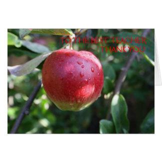 Apple vermelho aos melhores cartões de