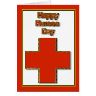 Apreciação feliz do dia das enfermeiras para o cartão