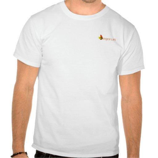 Aprecie a vida tshirts