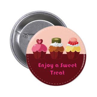 Aprecie cupcakes doces de um deleite boton