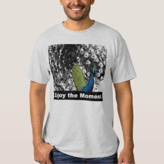 Aprecie o momento 2 - pavão t-shirt