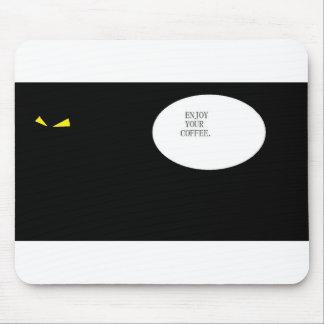 Aprecie seu café mouse pad