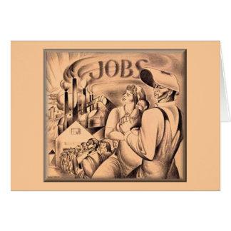 Aprecie seu Dia do Trabalhador fora Cartão Comemorativo