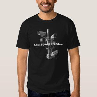 Aprecie sua liberdade t-shirt