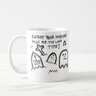 Aprecie sua manhã caneca de café