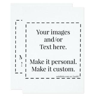 """Apronte para personalizar o"""" cartão 5x7, convide convite 12.7 x 17.78cm"""