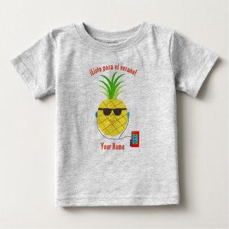 """""""Apronte para t-shirt espanhol do verão"""" com"""