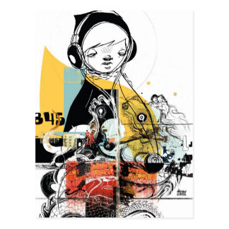 APxAdobe CS5 - CARIL de MATTHEW Cartão Postal