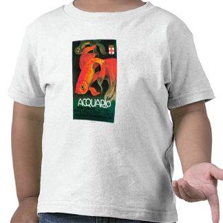 Aquário & poster do promocional do parque t-shirt