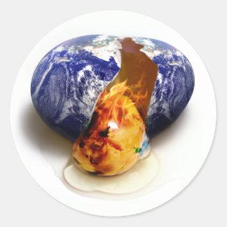 Aquecimento global adesivo