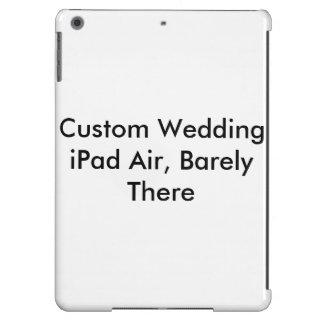 Ar feito sob encomenda do iPad do casamento, mal