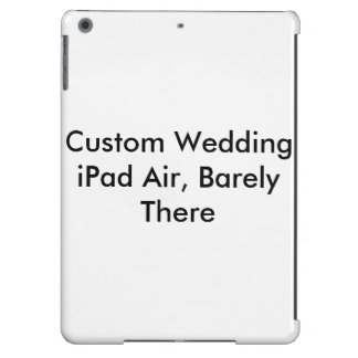 Ar feito sob encomenda do iPad do casamento mal l