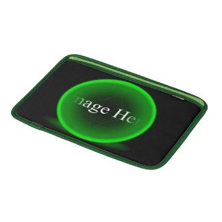 "Ar verde 11"" de Macbook da esfera luva horizontal Bolsa De MacBook Air"