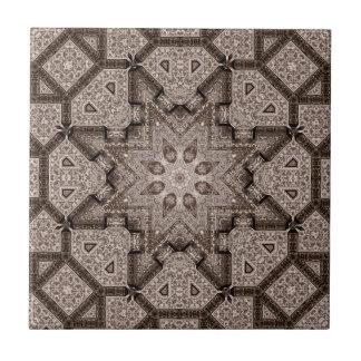 arabesque gravado azulejo de cerâmica
