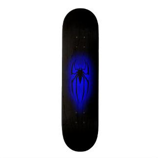 Aranha - azul shape de skate 19,7cm