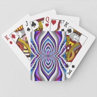 Aranha psicadélico… jogo de carta