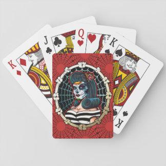 Aranha Queen_playingcards de Betty Jogo De Baralho