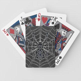 Aranha tribal baralhos de pôquer