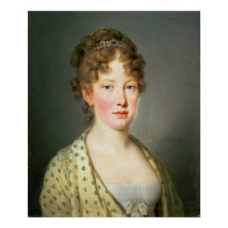 Archduchess Leopoldina de Áustria Poster