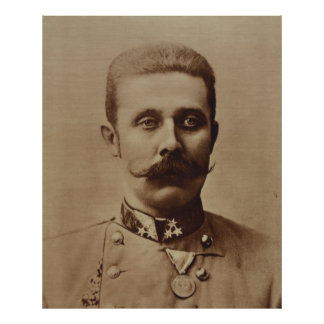 Archduke Franz Ferdinand de Áustria Posteres