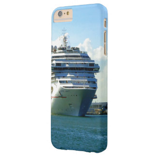Arco de embarque capa barely there para iPhone 6 plus