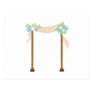 Arco do casamento cartão postal