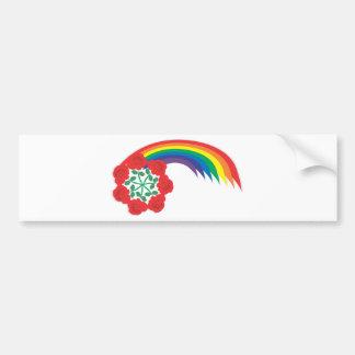 Arco do Rosa-Arco-íris Adesivo Para Carro
